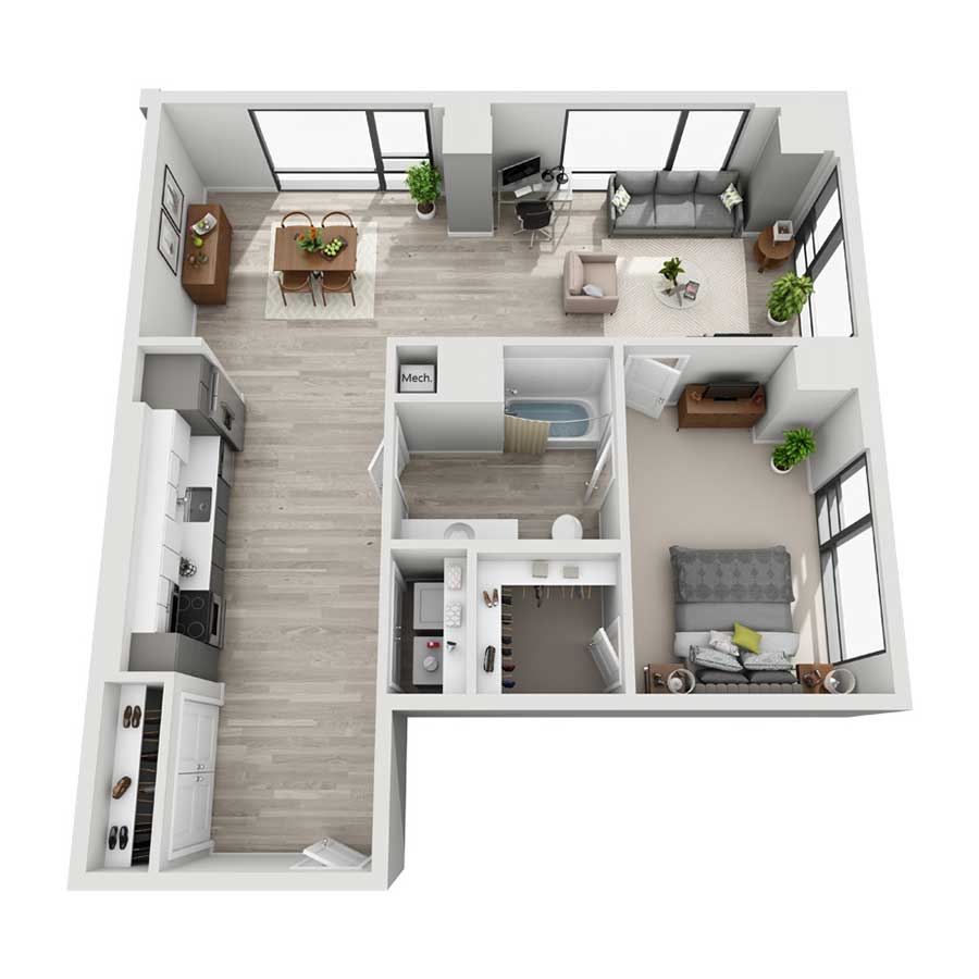2 Bedroom Apartments Denver: Luxury High-Rise Apartments In Downtown